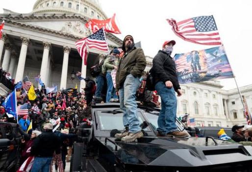 Manifestantes irrumpen en el Capitolio de Washington