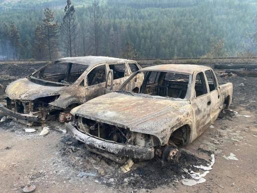 RCMP trabaja para identificar la causa del incendio en Lytton, BC