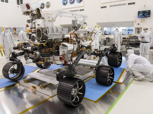 Tres exploradores robóticos llegarán a Marte