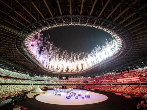 Una ceremonia de apertura sin espectadores dio inicio a los Juegos Olímpicos Tokio 2020