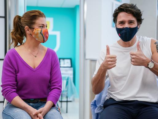 Trudeau asegura que la vacuna COVID-19 de AstraZeneca es segura