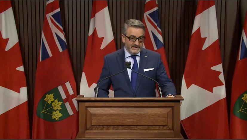 Líder de la Casa de Gobierno, Paul Calandra.