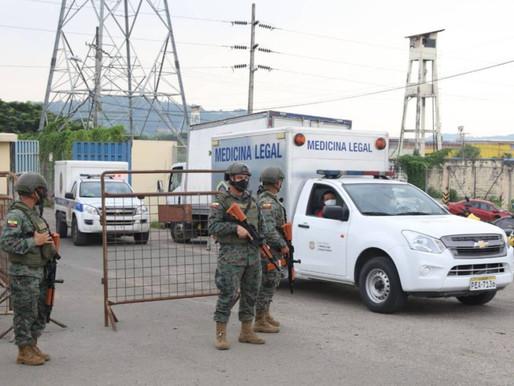 75 muertos tras enfrentamientos en cárceles de Ecuador