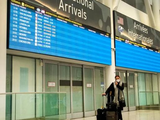 Viajeros multados por presentar pruebas COVID-19 falsas después de viaje a México