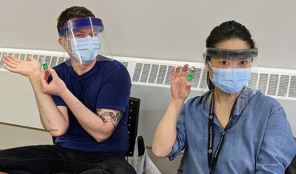 Preocupación por el aumento de la elegibilidad para las vacunas COVID-19 en Toronto.