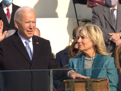 Biden juró como presidente número 46 de los E.E. U.U.