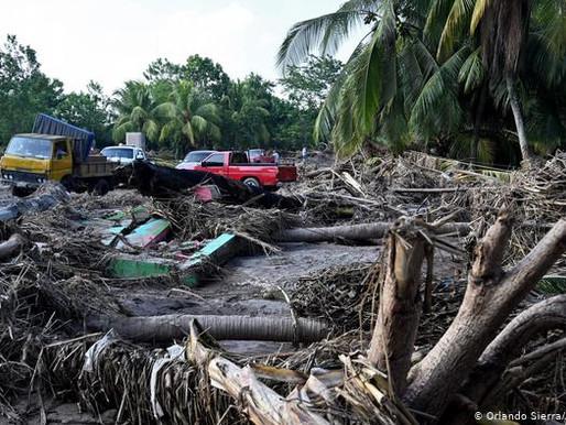 Iota ya es huracán y amenaza a Nicaragua y Honduras