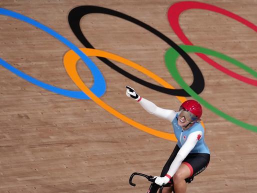 Kelsey Mitchell ganó el oro en ciclismo de pista femenino