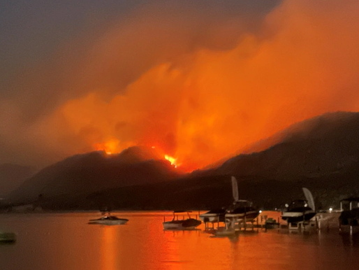 BC declara estado de emergencia por incendios forestales
