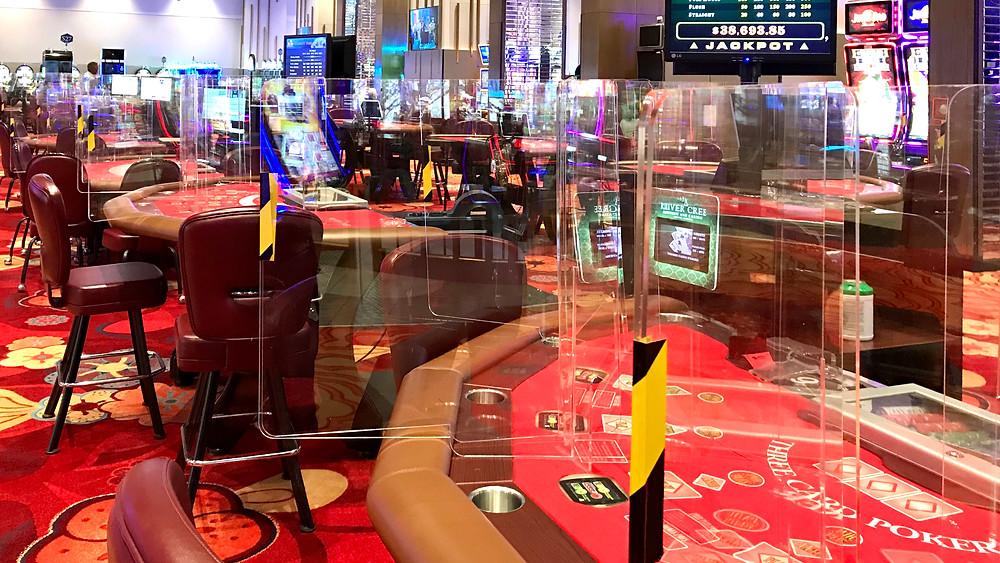 Juegos de mesa en el River Cree Casino al oeste de Edmonton