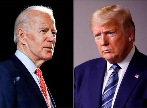 Trump y Biden se preparan para debatir