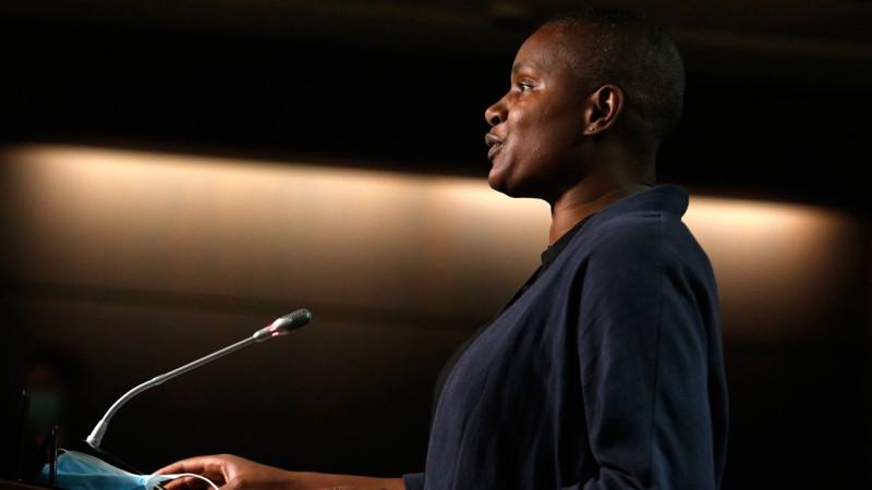 La líder del partido verde, Annamie Paul, crítica a los ejecutivos que intentaron derrocarla.