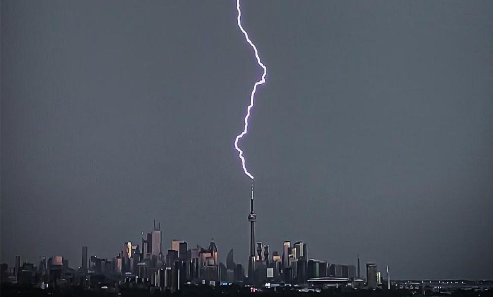 Advertencia de tormenta severa en efecto para Toronto y el GTA.