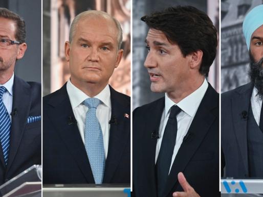 Estos fueron los temas principales del primer debate electoral federal televisado