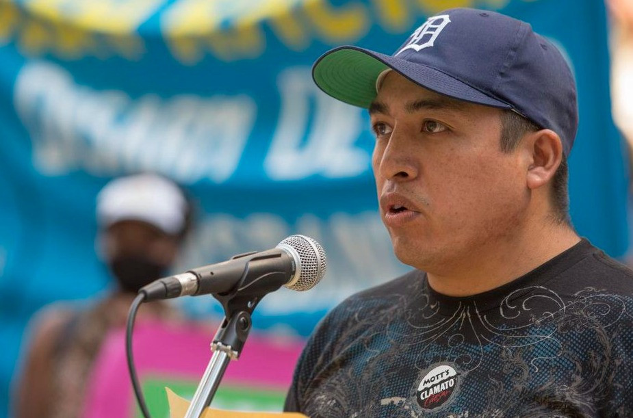 Gabriel Flores Flores regresó a casa en diciembre después de ocho meses de separación de su familia en México. El año pasado, trabajó en una granja del condado de Norfolk, Scotlynn Growers, donde 200 trabajadores, incluido Flores, dieron positivo a COVID-19.