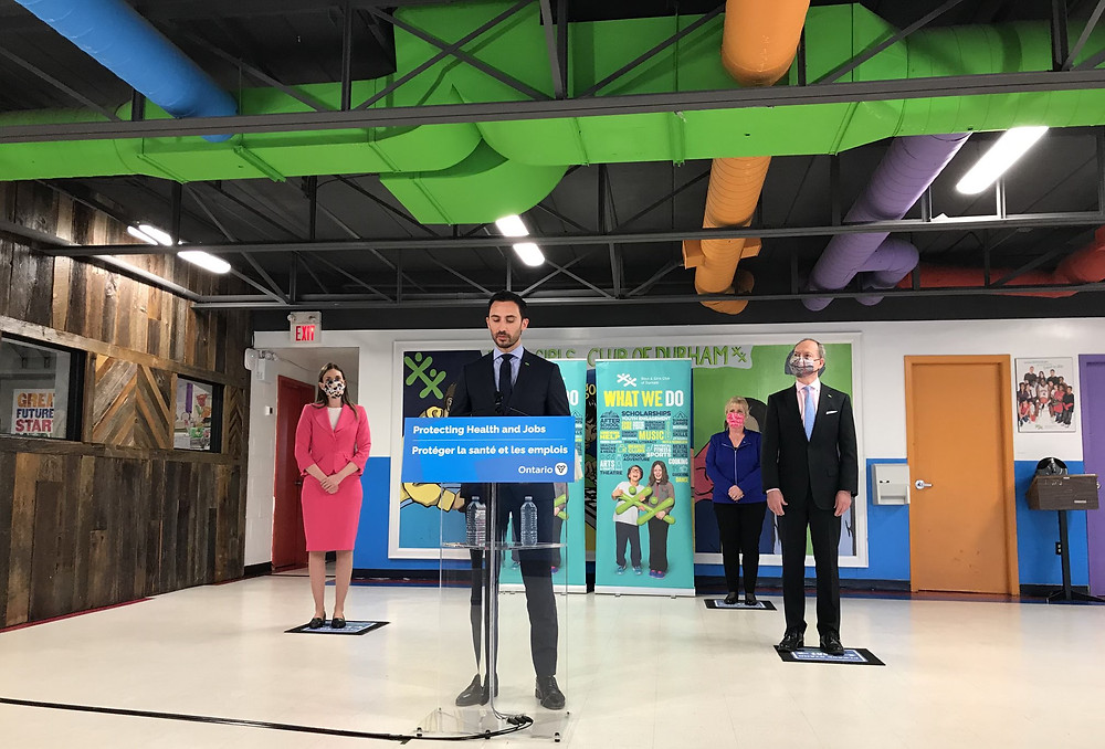 Las escuelas de Ontario permanecerán abiertas, las vacaciones de abril continuarán, dijo Lecce.