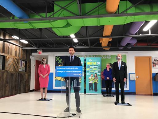 Las escuelas de Ontario permanecerán abiertas