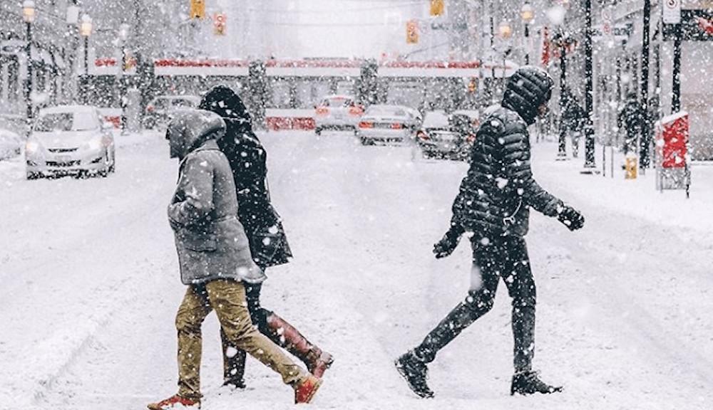 Environment Canada emitió una advertencia de nevadas para Toronto y partes del sur de Ontario el domingo.