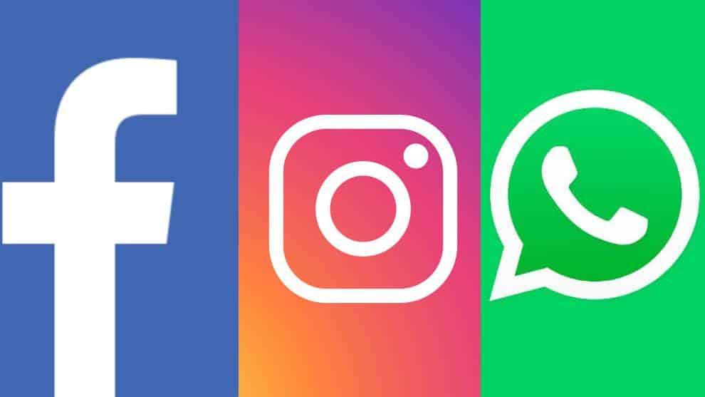 Facebook, Instagram y WhatsApp fuera de línea debido a un problema no identificado.