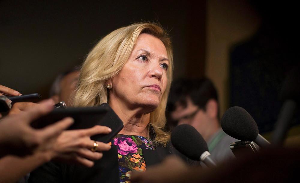 La viceprimera ministra de Ontario, Christine Elliott,