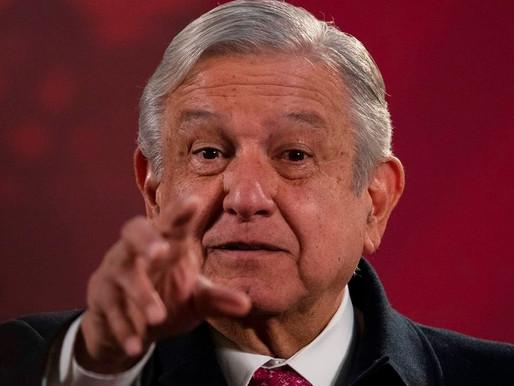 Presidente de México dio positivo a COVID-19