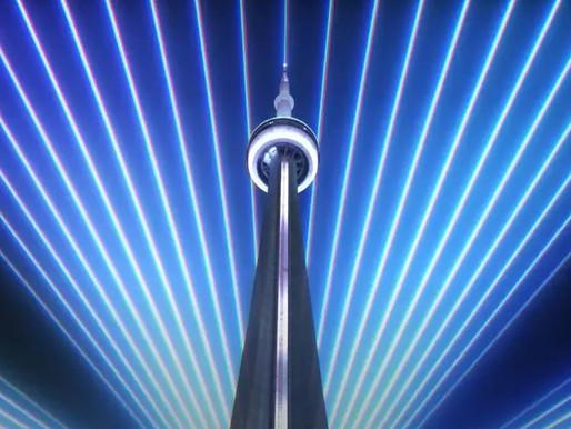 La CN Tower tiene un nuevo espectáculo de luces y sonido