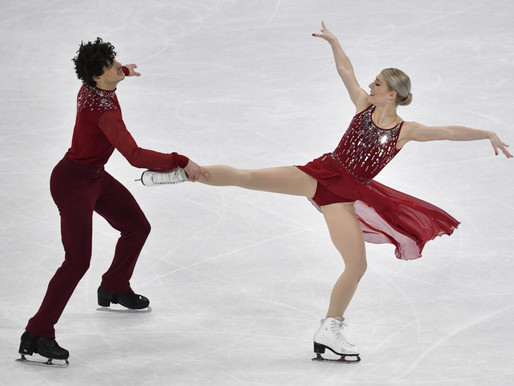 Dúo canadiense gana la medalla de bronce en los mundiales de patinaje artístico