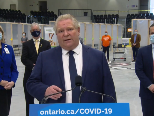 El portal de vacunación COVID-19 de Ontario presenta problemas en su día de lanzamiento