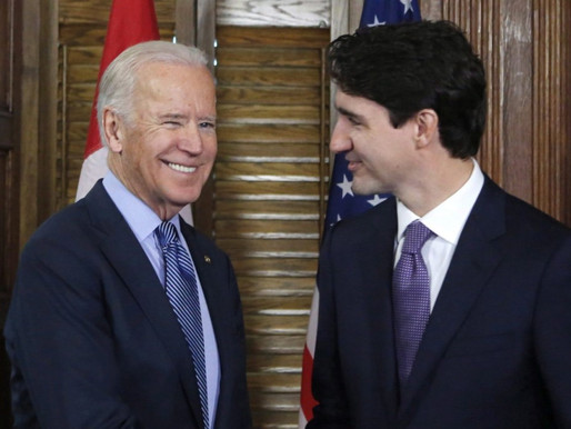 Primera llamada entre Biden y Trudeau