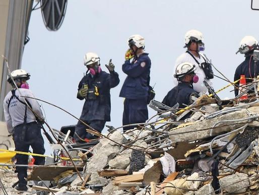 Se eleva el número de muertos por el colapso de un condominio en Miami