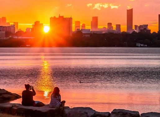 Toronto sentirá hasta 30º C este fin de semana