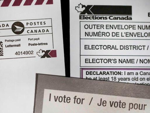 La mayoría de las tarjetas de votación enviadas por correo ya se han contado