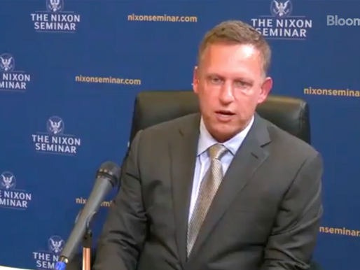"Peter Thiel define al Bitcoin como ""un arma financiera china"""