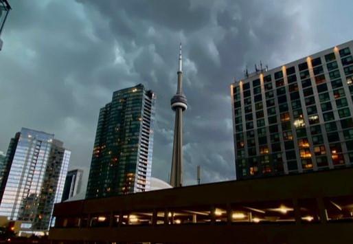 Toronto y el GTA bajo una advertencia de tormenta eléctrica severa