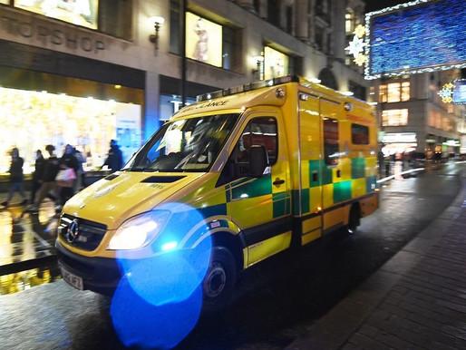 Hospitales británicos al borde del colapso