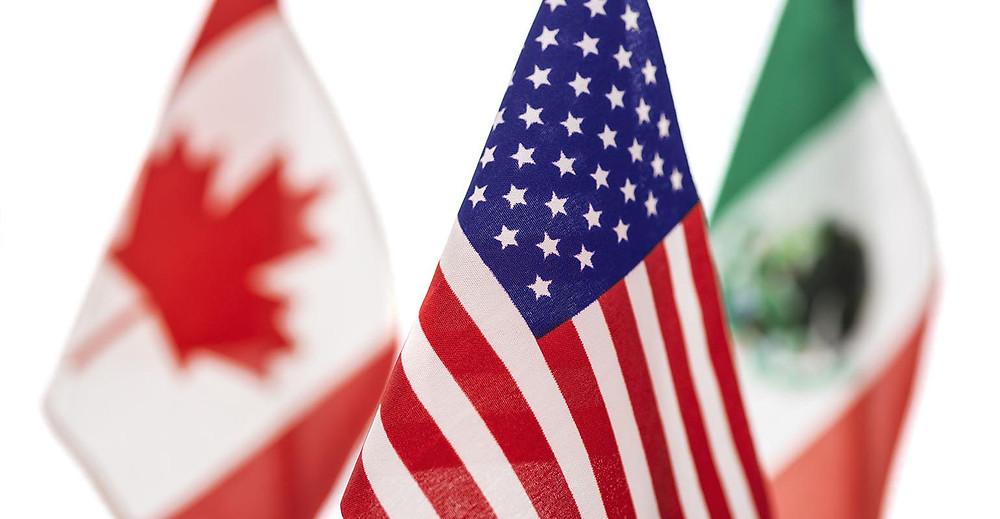 EE. UU. extiende las restricciones de viaje en las fronteras de Canadá y México.