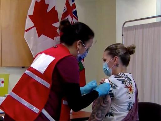 Ontario reduce vacunas COVID-19 en Navidad