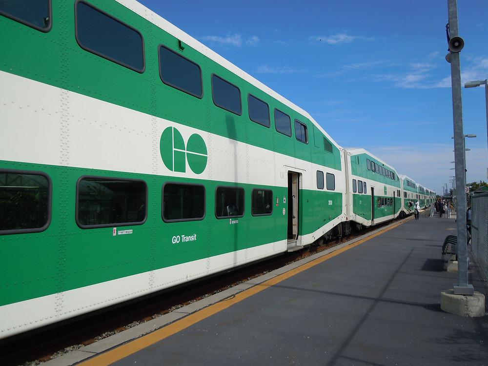 GO Train ofrecerá viajes entre London y Toronto el próximo mes.
