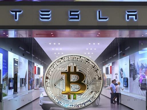 Tesla hace millonaria inversión en Bitcoin