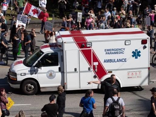 """Preocupación por el """"daño moral"""" entre los trabajadores de la salud"""
