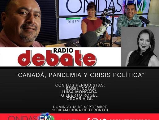 """Esta semana comienza """"Debate Radio"""" en ONDAS FM"""