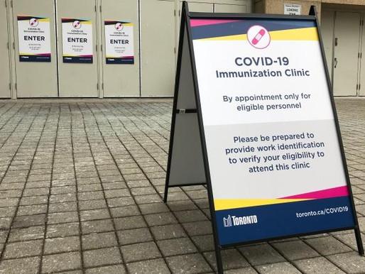 Más de 350 sitios de inmunización estarán listos para administrar vacunas COVID-19