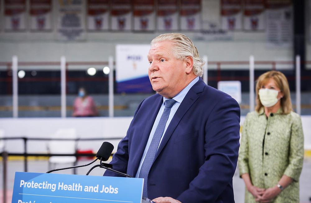 """Ford anuncia bloqueo de 4 semanas en 34 unidades de salud pública: """"Es la decisión correcta""""."""