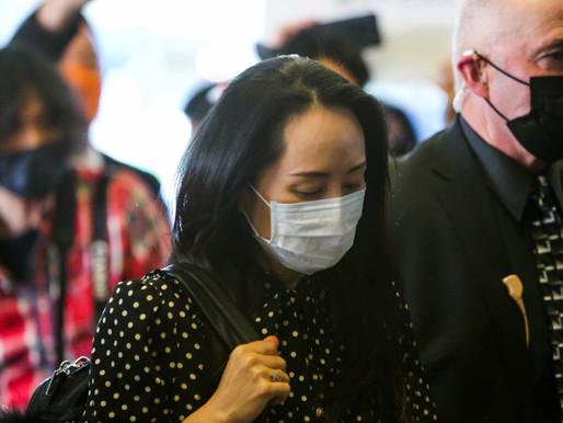 Se cierra el caso de extradición de la directora financiera de Huawei, Meng Wanzhou