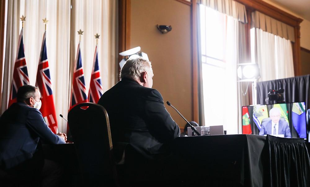 Ontario podría ver más de 18.000 nuevos casos de COVID-19 por día.