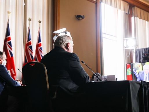 Ontario podría ver más de 18.000 nuevos casos de COVID-19 por día