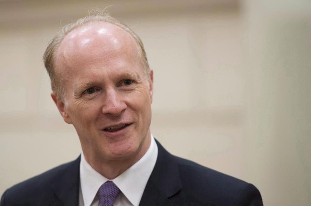 El presidente y director ejecutivo de la Junta de Inversiones del Plan de Pensiones de Canadá, Mark Machin.