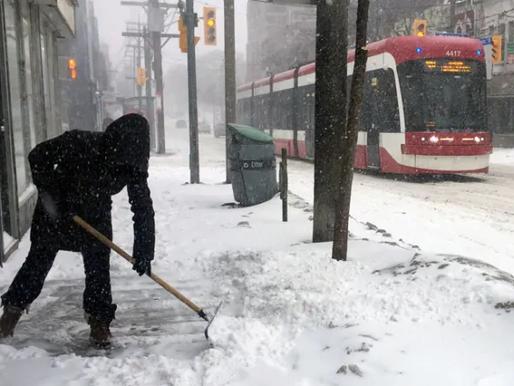 Potencial récord de nieve para el GTA
