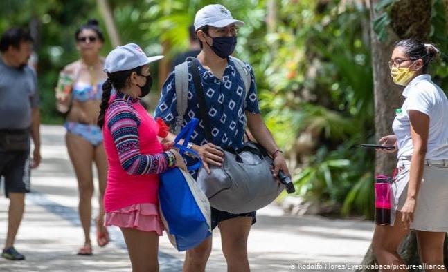 Incluso mientras continúa la pandemia de coronavirus, México está abierto al turismo