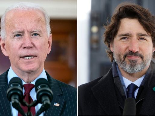 Biden se compromete a enviar vacunas COVID-19 adicionales a Canadá